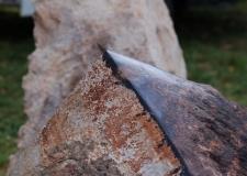 detail opracování kamene